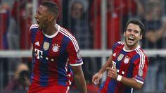 Golazo del Bayern en el último minuto. Setiembre 17, 2014.