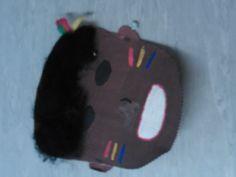 Afrikkalainen naamio. Sopii hyvin 5lk maantiedon Afrikka jaksoon