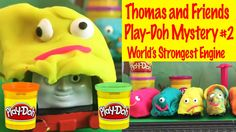 Thomas and Friends Play-Doh Edition 2! World's Strongest Mystery Engine