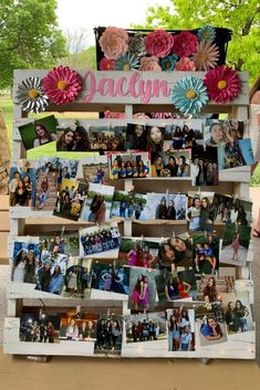 Planning a graduation party for your high school graduate? I have 34 brilliant graduation party ideas that are easy and will wow your guests. Graduation Photo Displays, Graduation Picture Boards, Graduation Open Houses, Graduation Party Planning, Graduation Party Decor, Graduation Ideas, Grad Parties, Outdoor Graduation Parties, Graduation Party Centerpieces