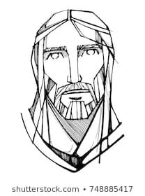 Hand drawn vector ink illustration or drawing of jesus christ face stock vector - 90042758 Illustration Art Drawing, Ink Illustrations, Jesus Art, Jesus Christ, What To Draw, How To Draw Hands, Art Love Couple, Watercolor Video, Free Hand Drawing