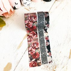 January 2018 The Planner Society Washi Tape Kit