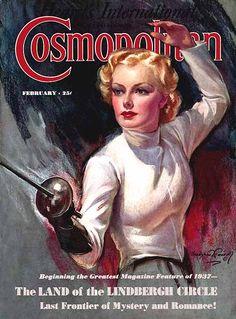 Female Fencer by Brashaw Crandell