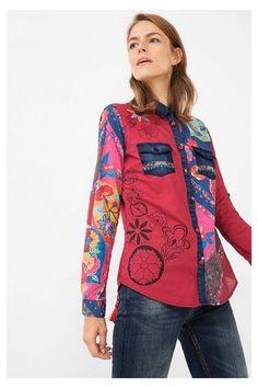 Chemises et blouses pour femme | Desigual.com