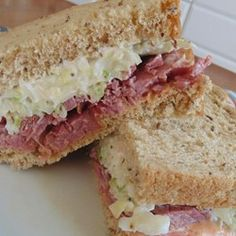 Corned Beef Special Sandwiches Allrecipes.com  #MyAllrecipes #AllrecipesAllstars #AllrecipesFaceless