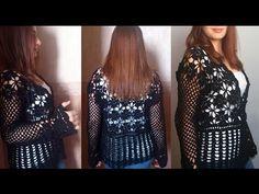 Chaqueta Crochet para Talles Reales / Video Tutorial | Crochet y Dos agujas