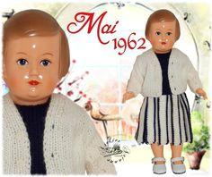 Vêtement pour poupée Modes et Travaux Françoise de Mai 1962