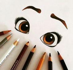 Coloriage yeux - dibujos a lapiz Pencil Art Drawings, Cute Drawings, Drawing Sketches, Moana Sketches, Cute Eyes Drawing, Drawing Ideas, Sketching, Amazing Drawings, Beautiful Drawings