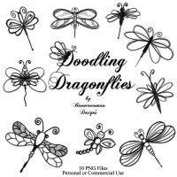 Doodle Dragonflies