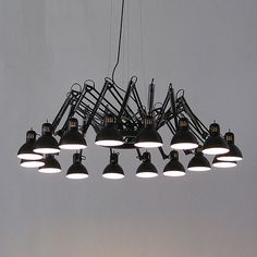 Ron Gilad; Enameled Metal 'Dear Ingo' Ceiling Light for Moooi.