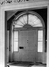 A fanlight is a semicircular or semi-elliptical window over a doorway or another window.