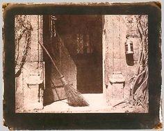 William Henry Fox Talbot, The Open Door, 1844 salted paper print from negative The Metropolitan Museum of Art