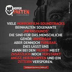 Soviel zu dem Schauer, der einem über den Rücken läuft... #horrorfakten #horror #fakten