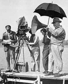 Jean Renoir (15 Sept 1894 – 12 Feb1979) was a French film director, screenwriter, actor, producer & author who made more than 40 films from the silent era to the end of the 1960s.  He was the 2nd son of Aline (née Charigot) & the French painter Pierre-Auguste Renoir & can be seen in many of his father's paintings.  In 1924, Renoir directed the first of his 9 silent films. These films did not produce a return, and Renoir gradually sold paintings inherited from his father to finance them.