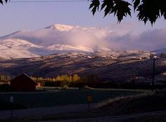 Squaw Butte Emmett Idaho November 2011