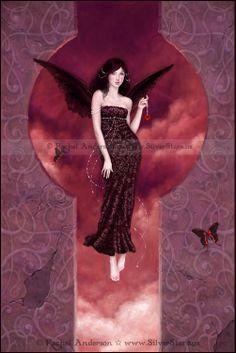 Rachel Anderson - Fairy & Fantasy Photo: Angel of Hearts II Fantasy Images, Fantasy Art, Dragons, Fairies Photos, Unicorns And Mermaids, Love Fairy, Cross Stitch Art, Fairy Art, Beautiful Artwork