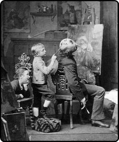 A good place to paint a face, 1877lols