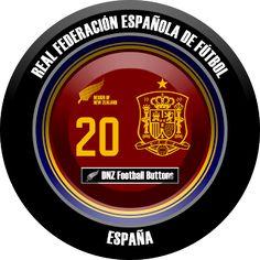DNZ Football Buttons: Seleção da Espanha