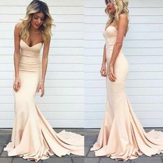 Online Simple Sweet Heart Mermaid Champagne Sexy Junior Cheap Long Occasion Dress for Wedding Party Prom, WG99 The shortbridesmaiddresses are fully lined, 4 b