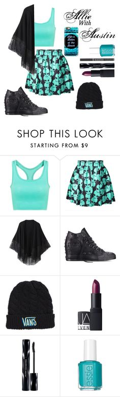 """Allie: 'Date Night'"" by potttorffsbae ❤ liked on Polyvore featuring Relaxfeel, Converse, Vans, NARS Cosmetics, Shiseido, Essie, Casetify and wattpad"