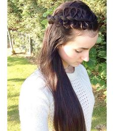 looped #sidebraid #hairstyles_by_shannon - Summer Braided Hairstyles