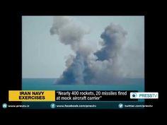 Iran's navy attacks replica U.S. aircraft carrier