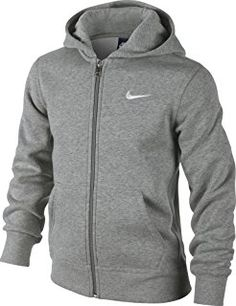 Nike Brushed Sweat-shirt à capuche Garçon  Amazon.fr  Sports et Loisirs acb08910513