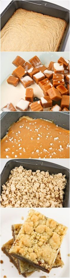 Salted Caramel Butter Bars Recipe