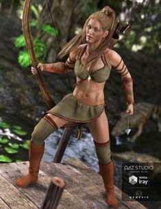 Jungle Goddess for Genesis 3 Female(s)