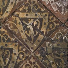 The tile at cleeve abbey, the only remaining medieval tile of its kind in…
