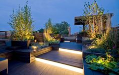 Recommended by http://koslopolis.com - World Online Magazine - Launched July 2015 - Lighting on roof terrace