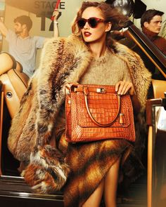 Karmen Pedaru for Michael Kors fall 2012