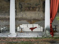 The Dandy Sofa is a seating system by designer Rodolfo Dordoni for Roda