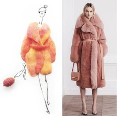Fashion Food Illustration | Gretchen Röehrs