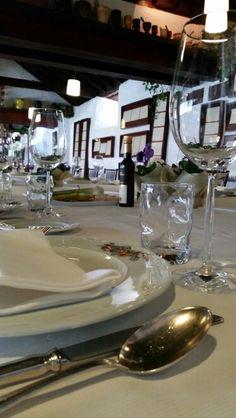 Un mesa especial....para un cocido madrileño con personalidad