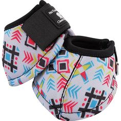 Classic Equine Designer Line DyNo No Turn Bell Boots- Tribal…