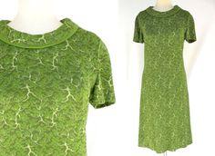 Vintage Green A Line Scooter Dress  // Mod 60s by ModLoungeVintage, $31.00