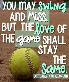 Softball image.