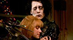 Edward and Kim (Edward Scissorhands)
