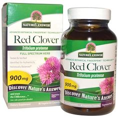 Nature's Answer, Red Clover, 900 mg, 90 Vegetarian Capsules