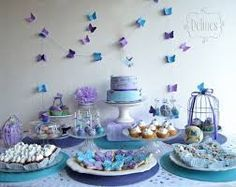 Resultado imagen para el cumpleaños temática con globos y mariposas para la niña de 9 años
