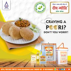 Deep Jyoti - Satisfy your Poori cravings without any guilt by frying them in Deep Jyoti Refined Oil! With a quest to provide the best cooking oil to consumers, the company made massive investment in Research and Product Development and eventually launched the famous brand of 'Deep Jyoti' Refined Soybean Oil.Hygienically Processed and packed by automatic filling machines.The main features of the Deep Jyoti Brand are :