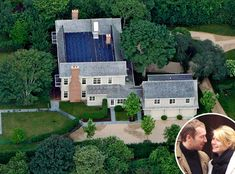 Gwyneth Paltrow & Chris Martin from Celebrity Homes in the Hamptons