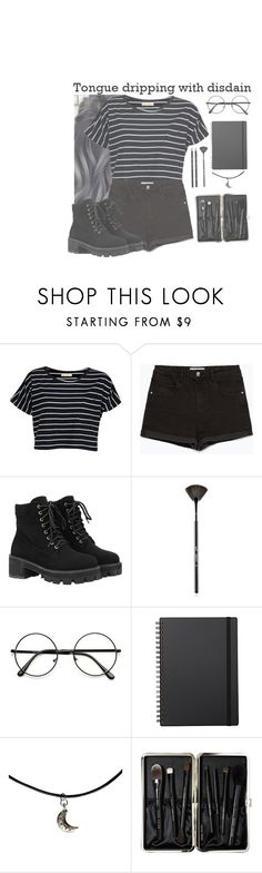 """hurricane"" by void-laheys ❤ liked on Polyvore featuring Brave Soul, Zara, WithChic, Sigma, Muji and Bobbi Brown Cosmetics"