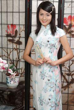 chinese long dress qi pao legs