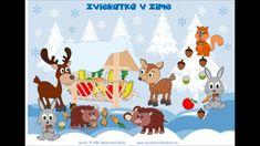Zimný príbeh o zvieratkách v lese