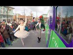 TELUS ran an experiment to see if people would put down their phones for some holiday magic Experiential Marketing, Experiment, Phones, Campaign, Magic, Holiday, People, Dots, Vacations