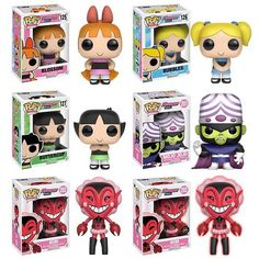 Power Puff Collection Funko Pops