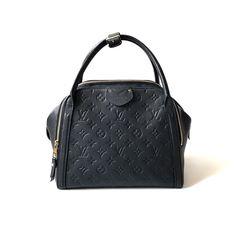 "@spaceroomjkt on Instagram: ""Pre Louis Vuitton Marais Empreinte Black 2014 (28 x 19 x 23 cm) complete with dustbag  IDR 18.950.000"""