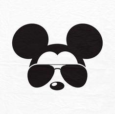 Digital Art Disney Mickey Mouse 35 Ideas For 2019 Arte Do Mickey Mouse, Mickey Mouse Head, Mickey Mouse Shirts, Mickey Ears, Disney Shirts, Disney Micky Maus, Mickey E Minie, Disney Diy, Disney Crafts